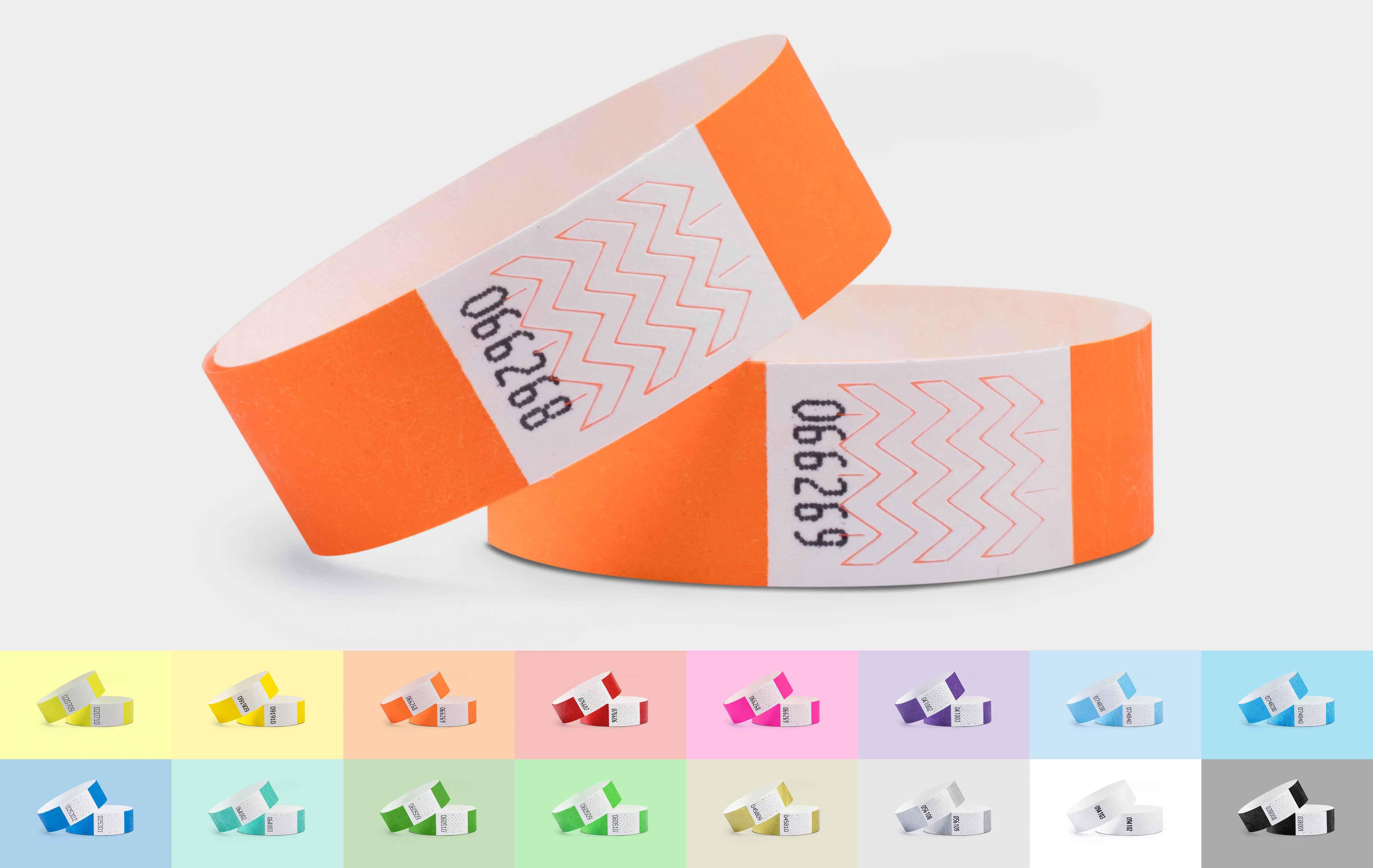 1000er VPE Securebänder Tyvek® 19 mm - 16 Farben