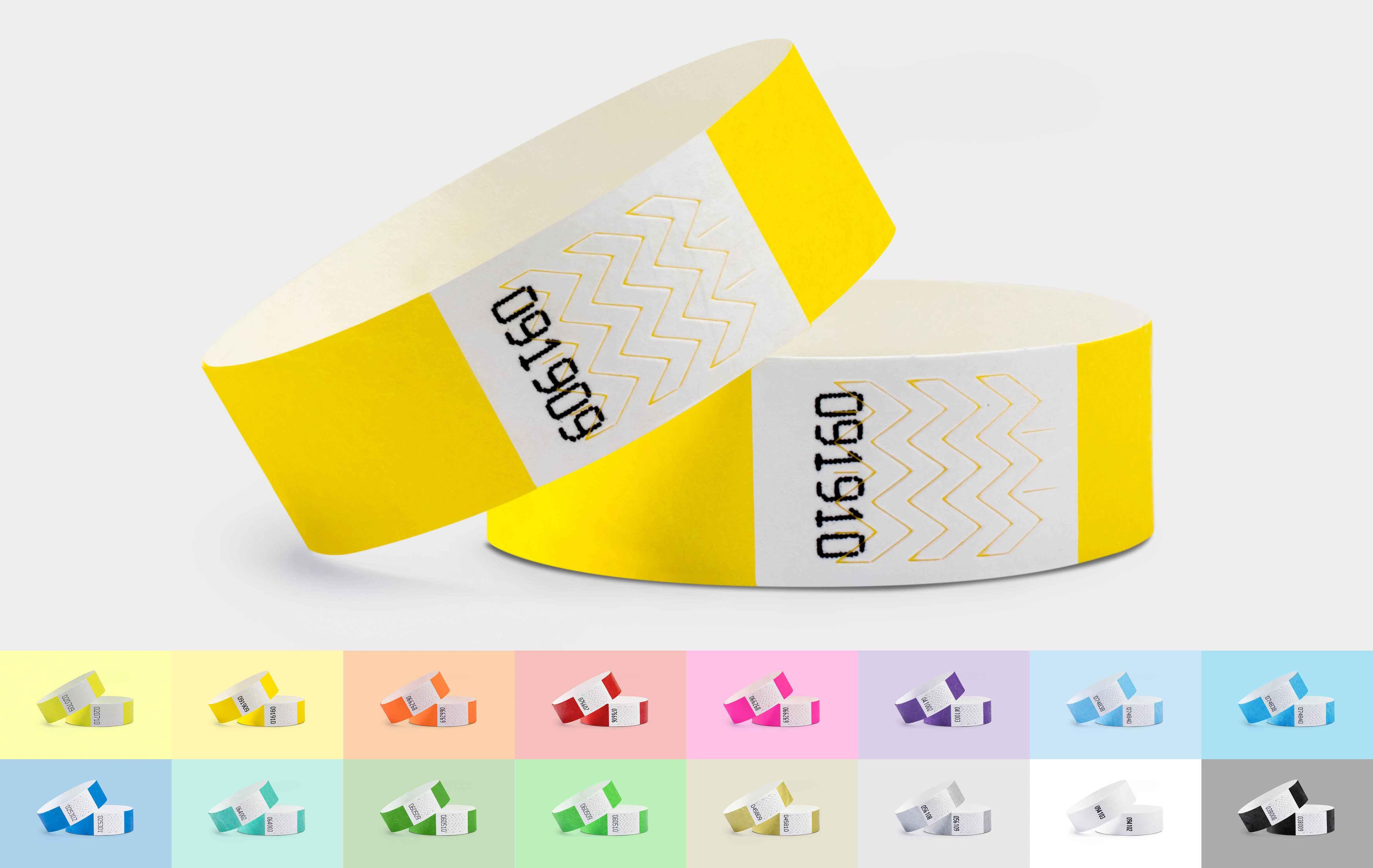 100er VPE Securebänder Tyvek® 19 mm - 16 Farben